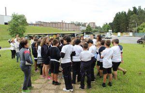 Visita de escolares a Betanzos HB